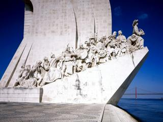 обои Monument to the Discoveries,   Lisbon,   Portugal фото