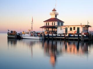 обои New Canal Lighthouse,   Louisiana фото