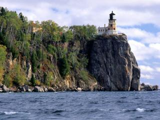 обои Split Rock Lighthouse,   Two Harbors,   Minnesota фото