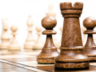 обои Шахматы вид с угла фото