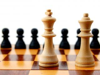 обои Шахматы парочка фото
