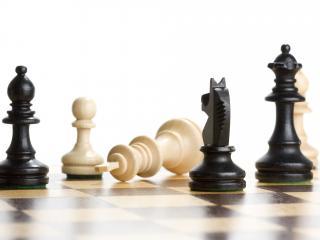 обои Шахматы разгром фото