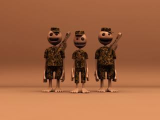 обои для рабочего стола: Army Group