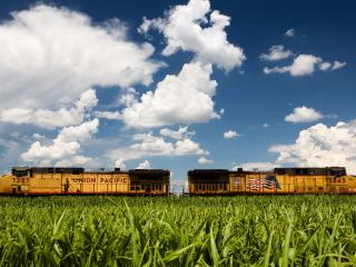 обои Miscellaneous American train фото