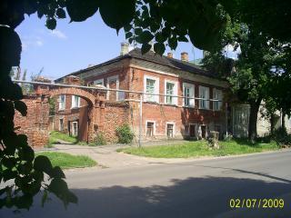 обои Дом в городе Мичуринске
