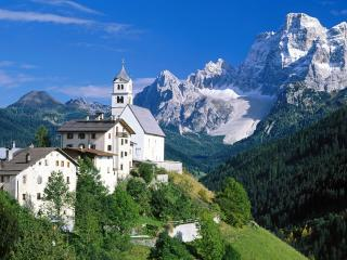 обои The Dolomites,   Alps,   Italy фото