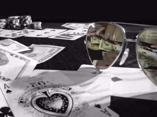 обои Карты фишки и деньги фото