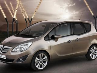 обои Opel Meriva Опель Мерива фото