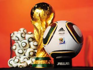 обои Кубок мира и мяч джабулани фото