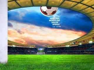 обои Футбольный стадион чемпионата мира по футболу 2010 фото