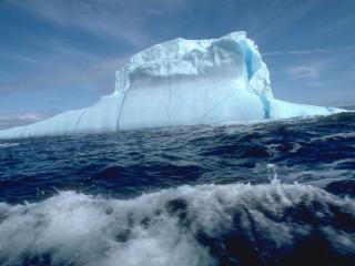 обои Ледяное море фото