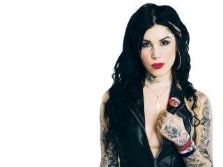 обои Татуированная девушка фото
