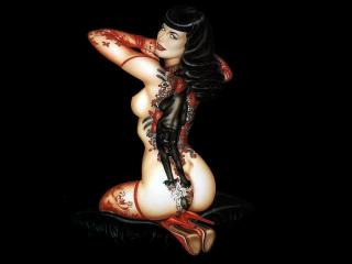 обои Tattooed Girl фото