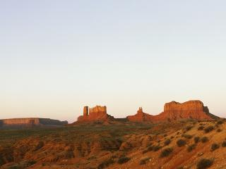 обои Панорама пустыни фото