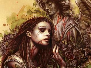 обои Готичные ангелы в крови фото