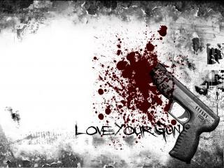 обои Guns Blood фото