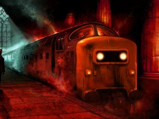обои Поезд смерти фото