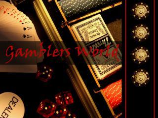 обои Надпись Gamblers World фото