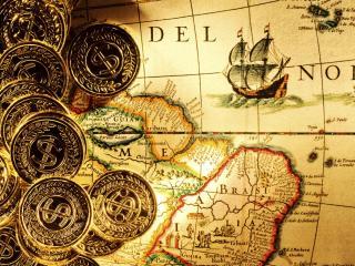 обои Золото пиратов фото