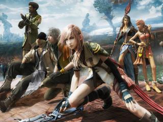 обои Final Fantasy герои игры фото