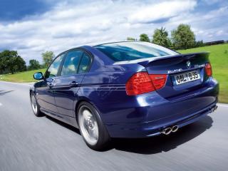 обои 2009 BMW Alpina B3 Bi Turbo Rear Angle Speed Tilt фото