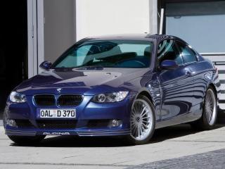 обои 2009 BMW Alpina D3 Bi Turbo Front Angle фото