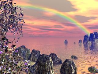 обои Rainbow Boundless фото