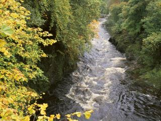 обои River Passage, Scotland фото
