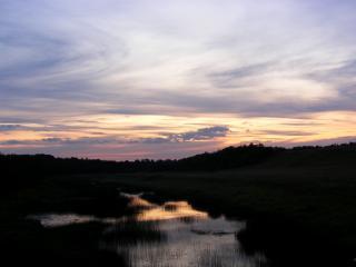 обои Там день..закат в деревне под Угличем фото
