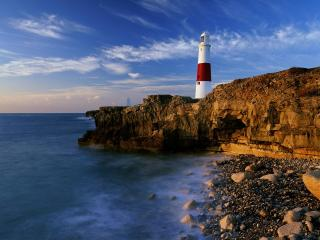 обои Lighthouse,   Dorset,   England фото