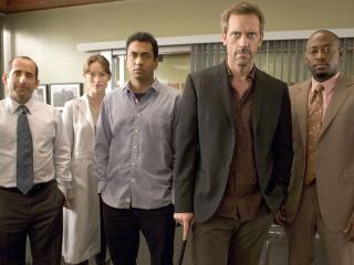 обои Доктор Хаус и его команда фото