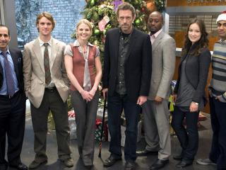 обои Команда Доктора на Новый год фото