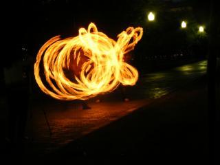обои Пламенный вихрь,   Фаерщики,   Болотная площадь,   лето фото