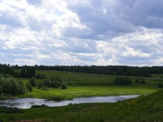 обои Под Угличем,   река Корожечна фото