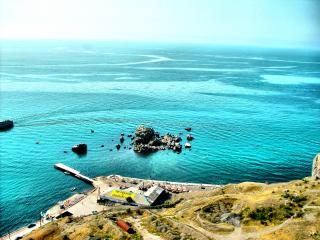 обои Берег черного моря фото