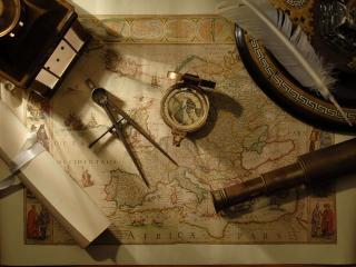 обои Карта путешественника фото