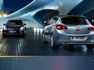 обои Opel Astra 2010 фото