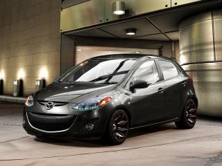обои Будущая Mazda 2 фото