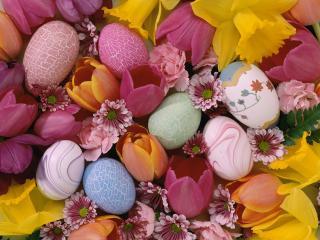 обои Easter Pastels фото