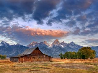 обои Moulton Surprise,   Moulton Barn,   Grand Teton National Park,   Wyoming фото