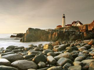 обои Portland Head Lighthouse,   South Portland,   Maine фото