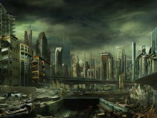 обои Мёртвый город фото