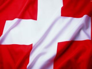 обои Флаг Швейцарии фото