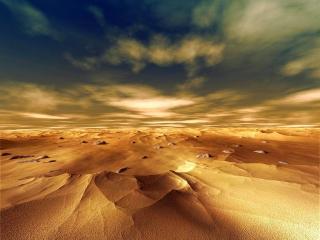 обои Пустыня и небо фото
