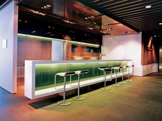 обои для рабочего стола: Барная стойка аэропорта Люфганза