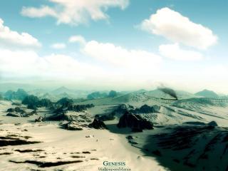 обои Песчаные горы фото
