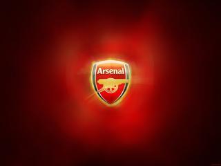 обои Эмблема футбольного клуба Арсенал фото