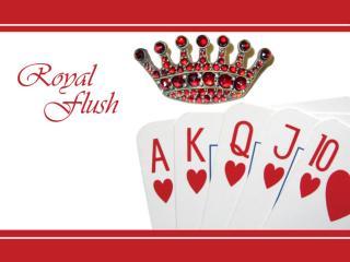 обои Червовый royal flush фото