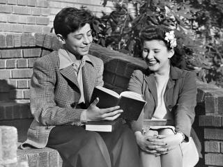 обои Читают книжку фото