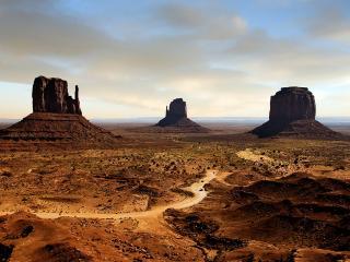 обои Пустынный пейзаж фото